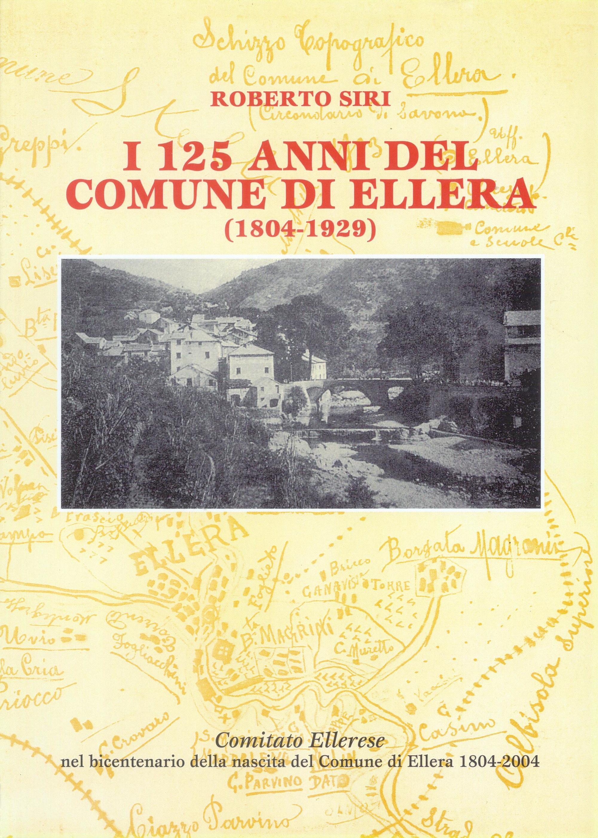 I 125 anni del comune di Ellera